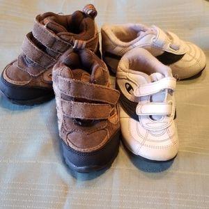 Size 5.5 Toddler 2 Pair Shoe Bundle